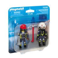 Playmobil Duo Pack  DuoPack Brandweerlui 70081