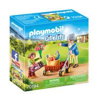 Playmobil City Life  Oma met rollator 70194
