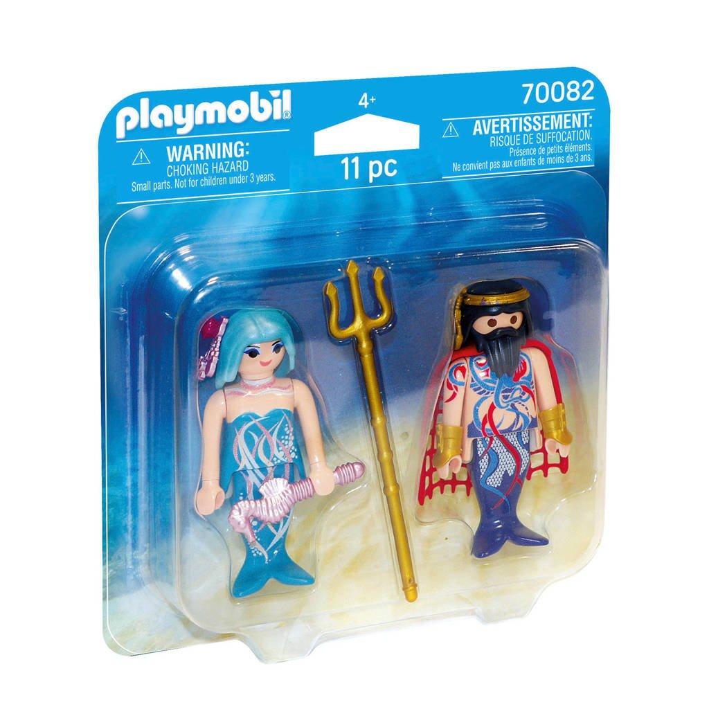 Playmobil Duo Pack Duopack Zeekoning en meermin 70082