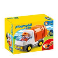 Playmobil 1-2-3  Vuilniswagen 6774