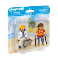 Playmobil Duo Pack DuoPack Dokter en patiënt 70079