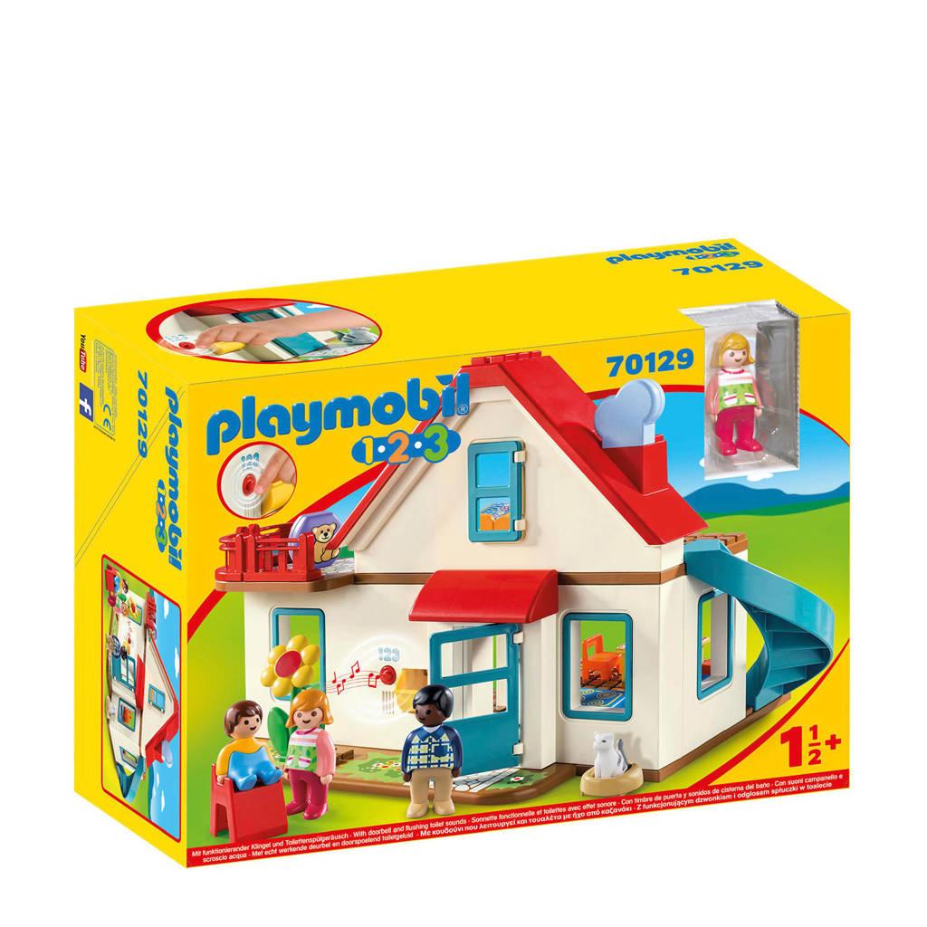 Playmobil 1-2-3  Woonhuis 70129