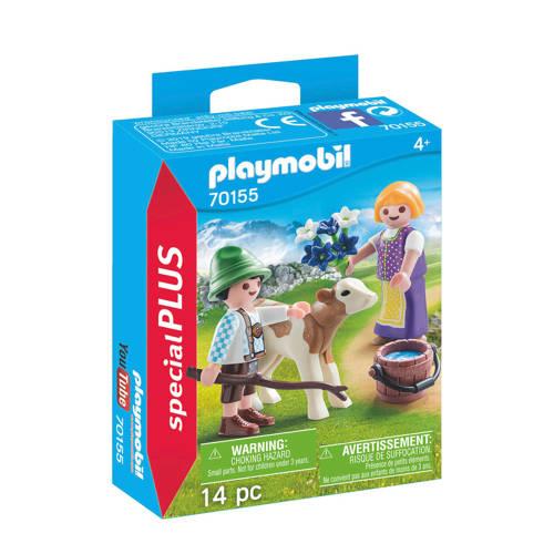 Playmobil Kinderen met kalf 70155