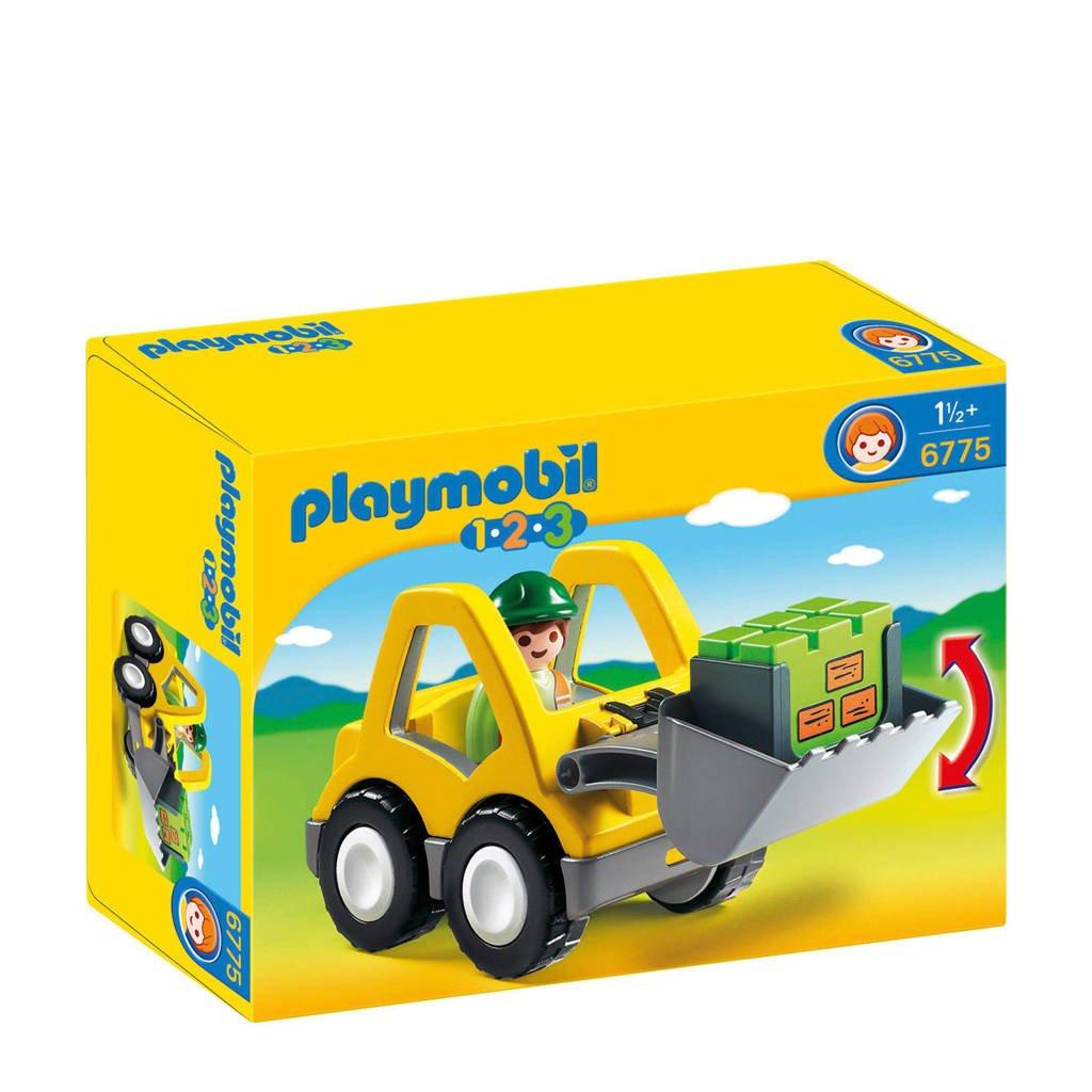 Playmobil 1-2-3 Graafmachine met werkman 6775