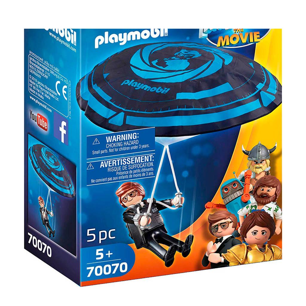 Playmobil the Movie Rex Dasher met parachute 70070