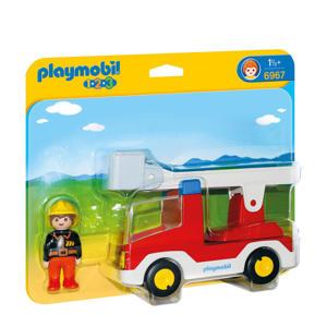 Brandweerwagen met ladder  6967