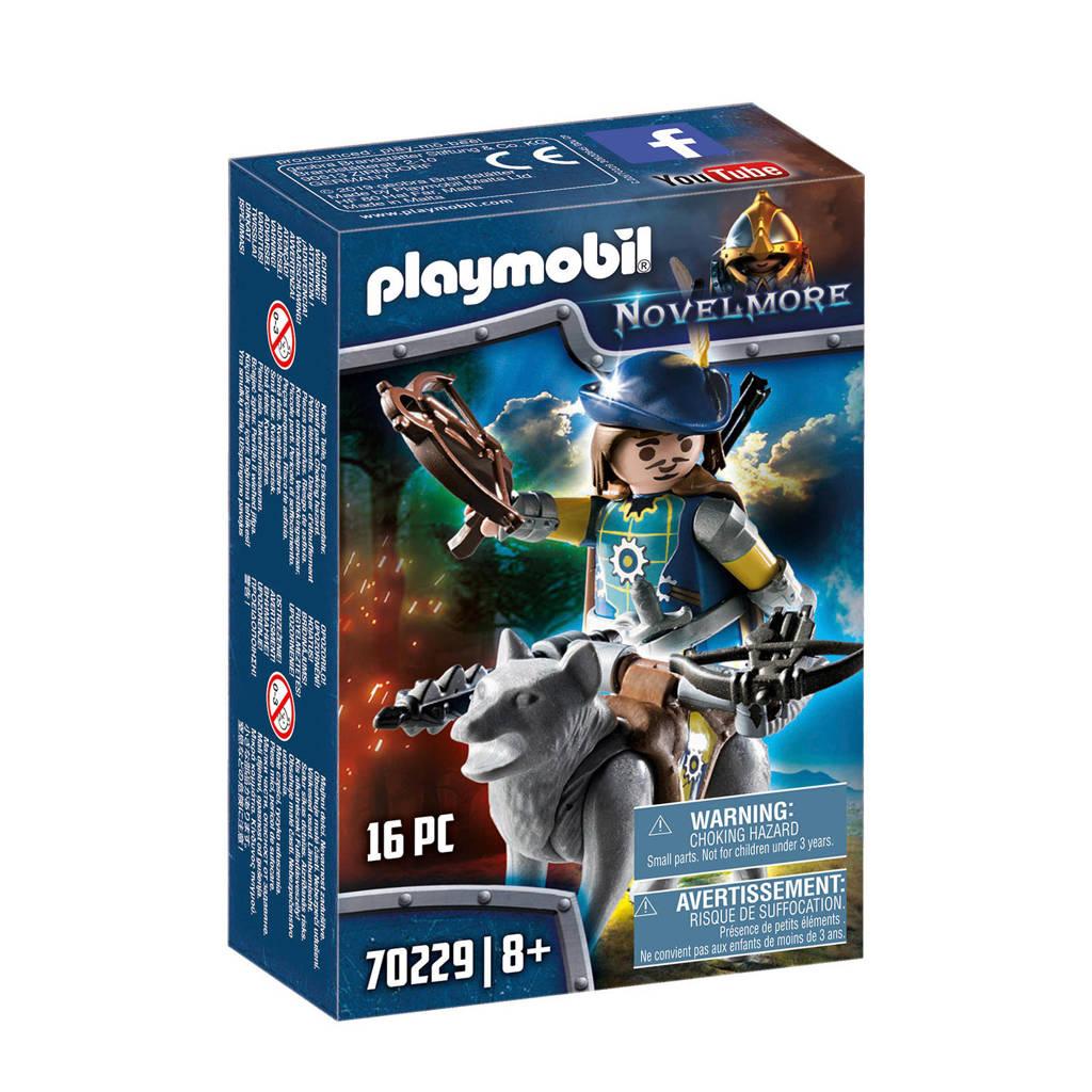 Playmobil Novelmore Kruisboogschutter met wolf 70229