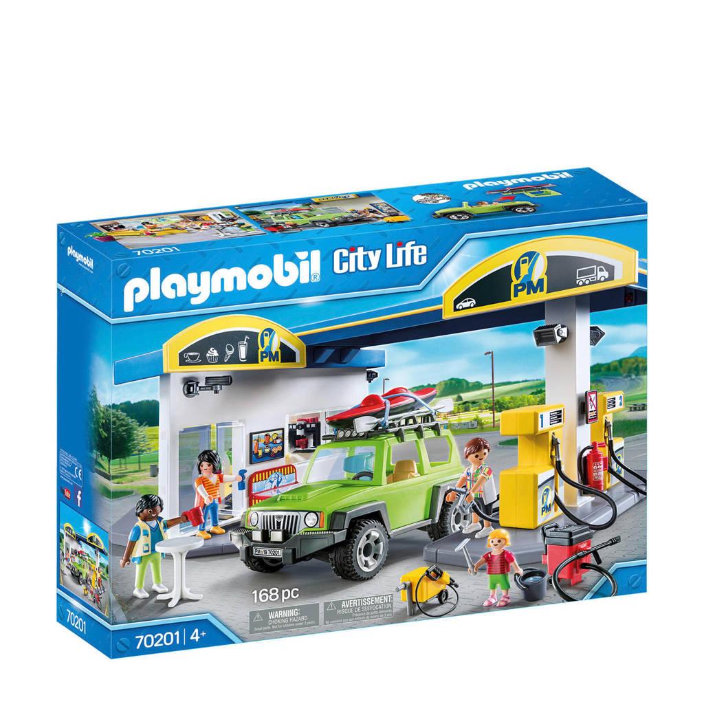 Playmobil City Life Tankstation 70201