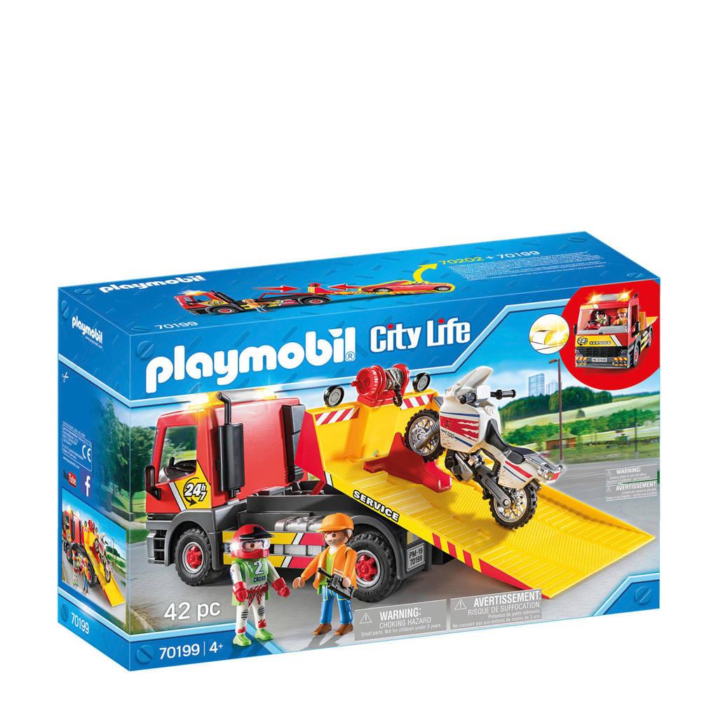 Playmobil City Life  Sleepwagen met motor 70199