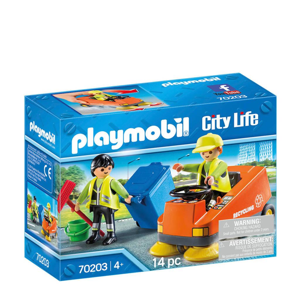 Playmobil City Life Straatveger 70203