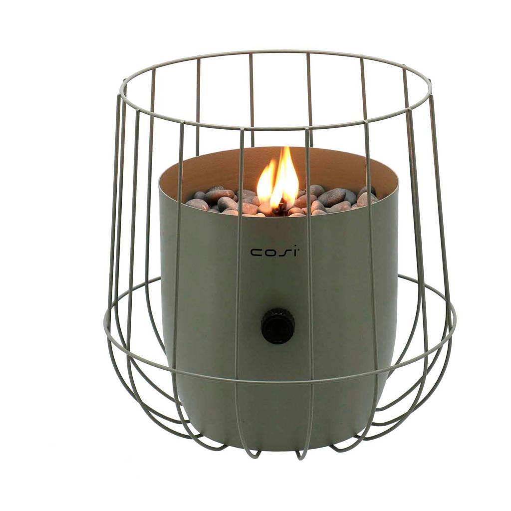 Cosi Fires gaslantaarn Basket, Olijfgroen