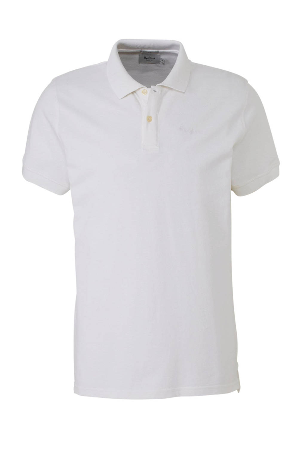 Pepe Jeans slim fit polo, Wit
