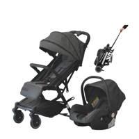 Xadventure Xline City buggy+autostoel 0+ antraciet, Antraciet