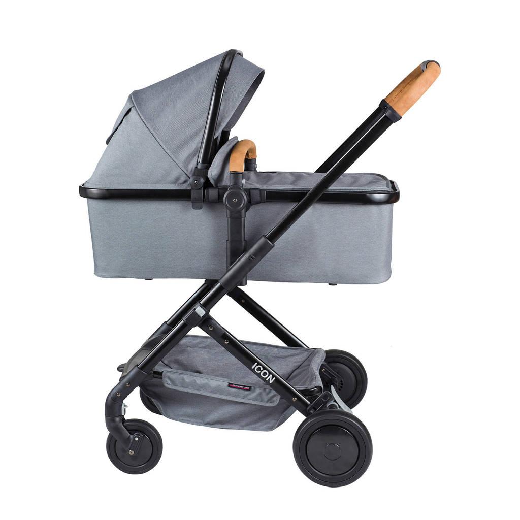 Xadventure kinderwagen+autostoel groep 0 grijs, Grijs