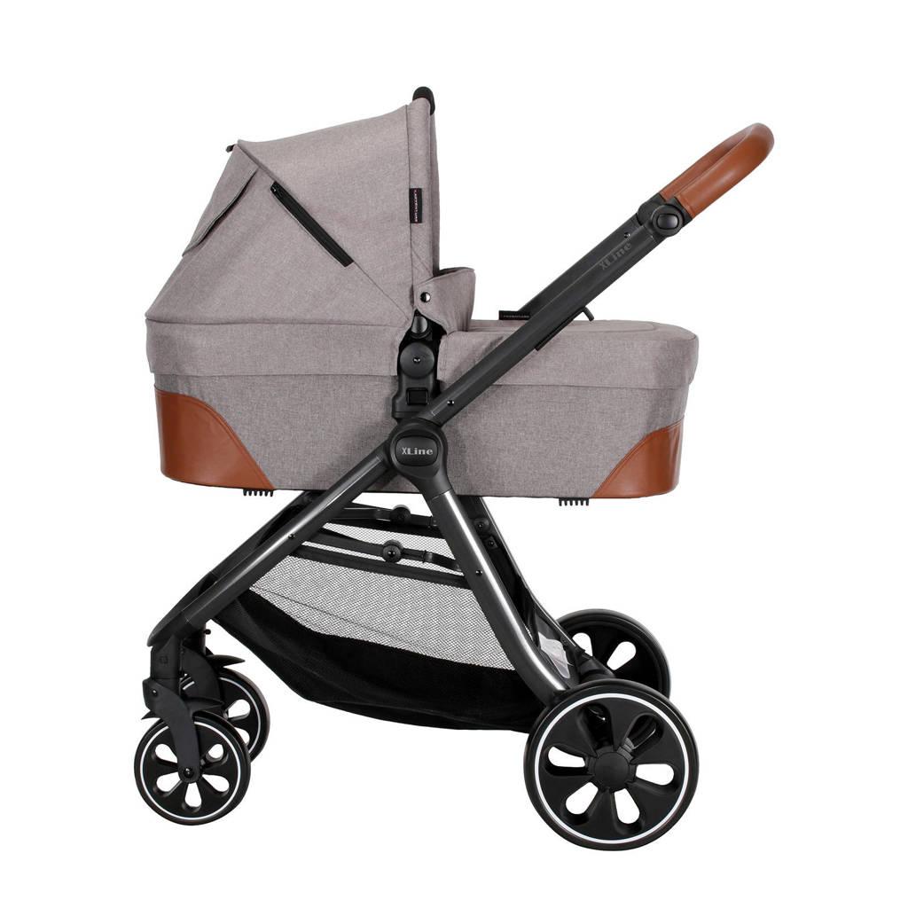 Xadventure X Line S Combi kinderwagen+autostoel groep 0+adapters grijs, Grijs