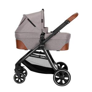 X Line S Combi kinderwagen+autostoel groep 0+adapters grijs
