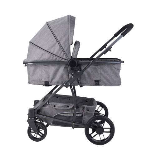 Xadventure Xplorer kinderwagen+autostoel groep 0+luierstas grijs kopen