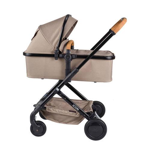 Xadventure kinderwagen+autostoel groep 0 taupe kopen