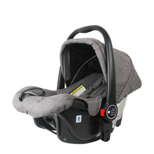 Xadventure autostoel groep 0 grijs kopen