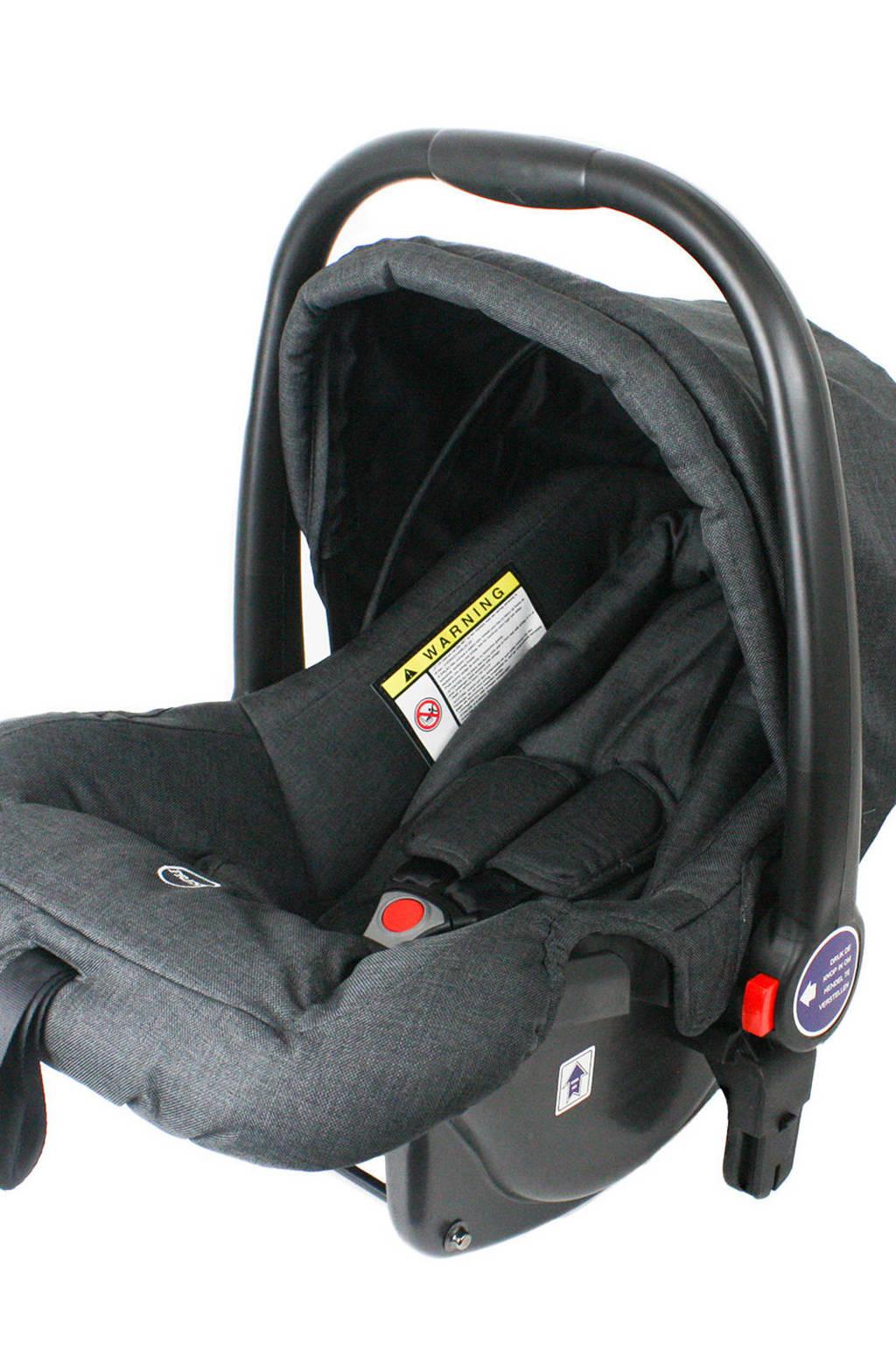 Xadventure autostoel groep 0 zwart, Zwart