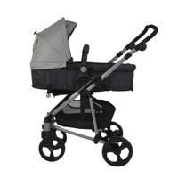 Xadventure 3-in-1 kinderwagen + autostoel lichtgrijs, Grijs