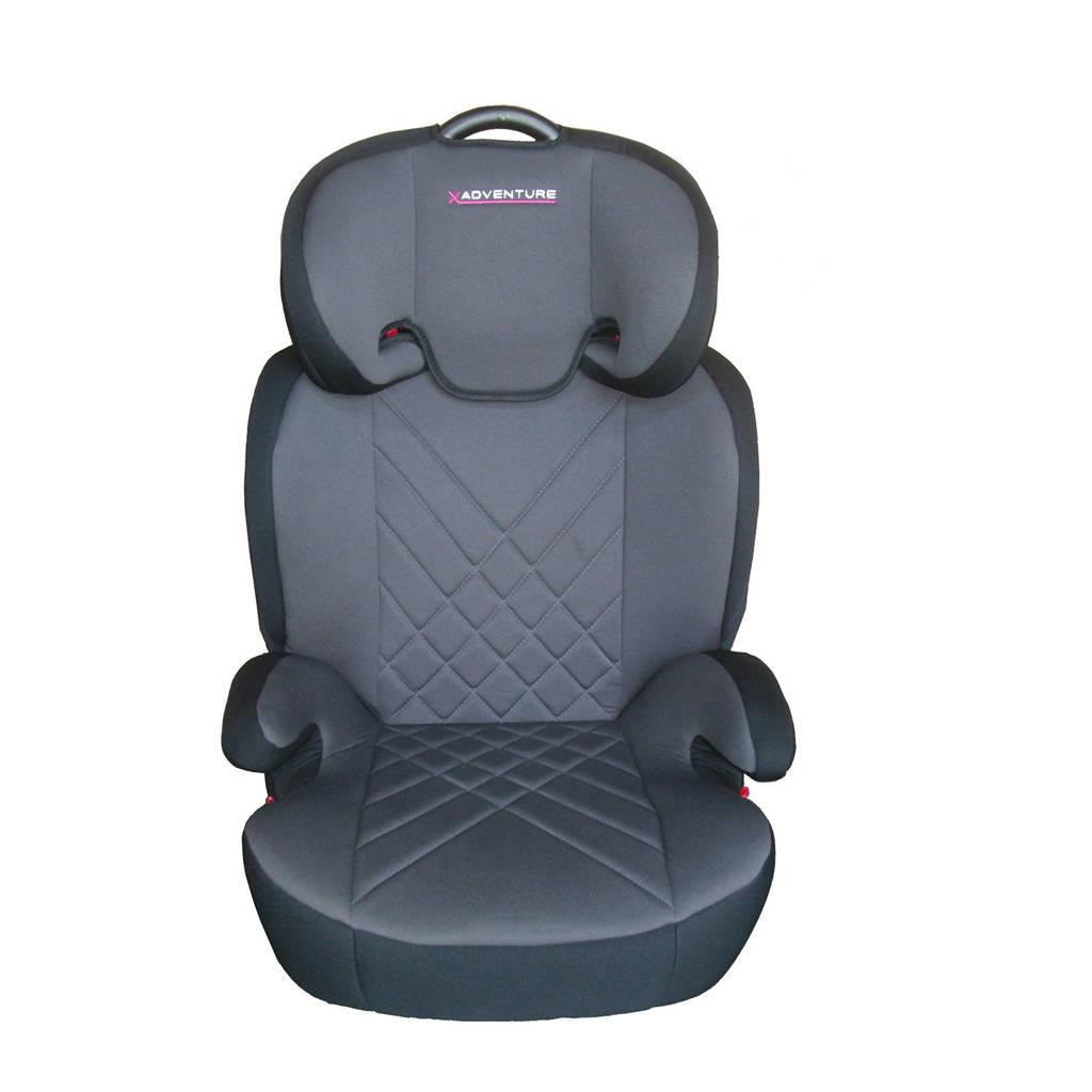 Xadventure Junior Fix autostoel groep 2-3 grijs, Grijs