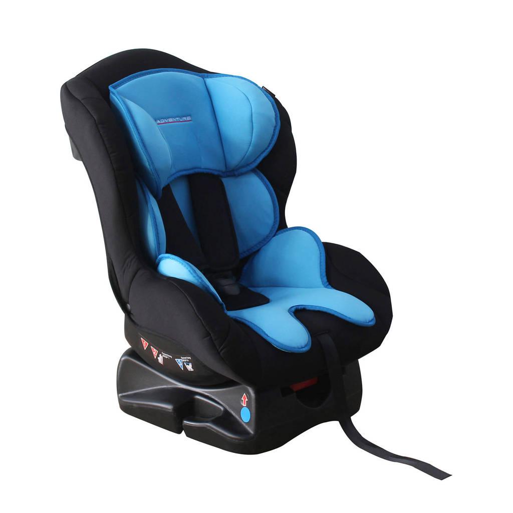 Xadventure Travel autostoel groep 0-1 blauw, Zwart/blauw