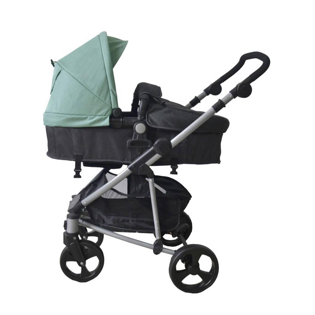 Xadventure 3-in-1 kinderwagen + autostoel groen, Groen