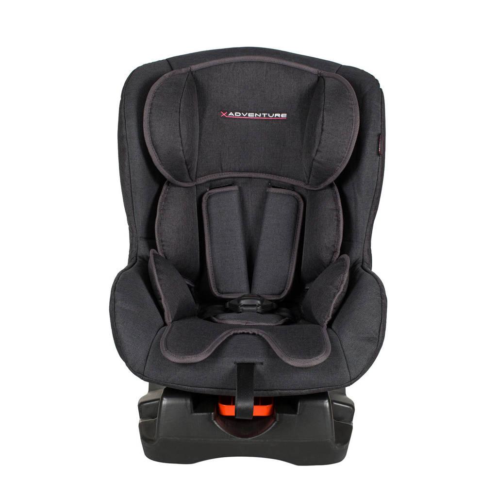 Xadventure Ranger autostoel 0-1 zwart, Zwart