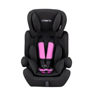 autostoel 9-36 kg zwart/roze