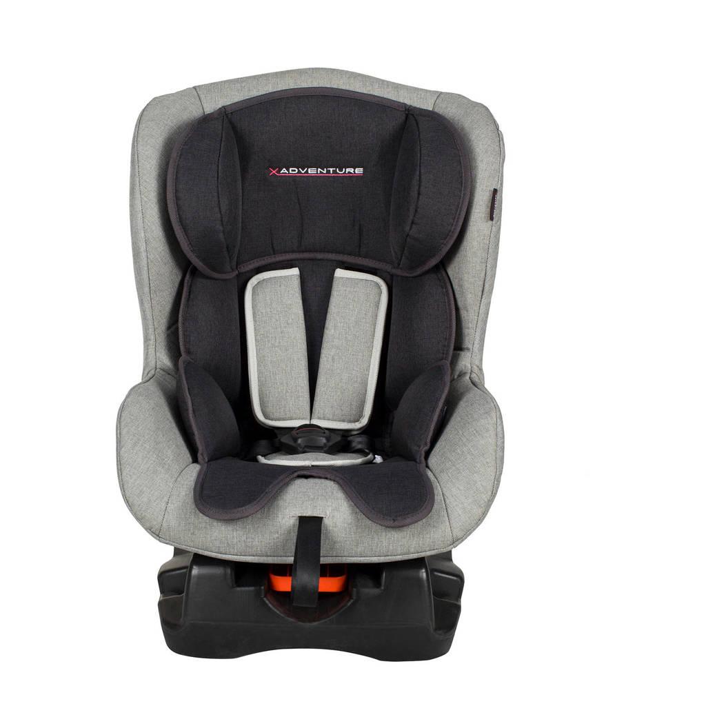 Xadventure Ranger autostoel 0-1 grijs, Zwart/grijs