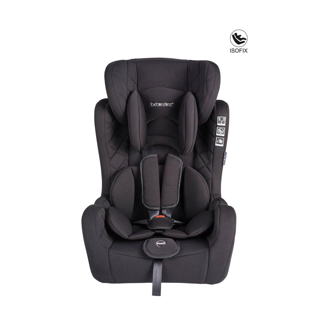 Bebies First autostoel groep 1+2+3 zwart, Grijs