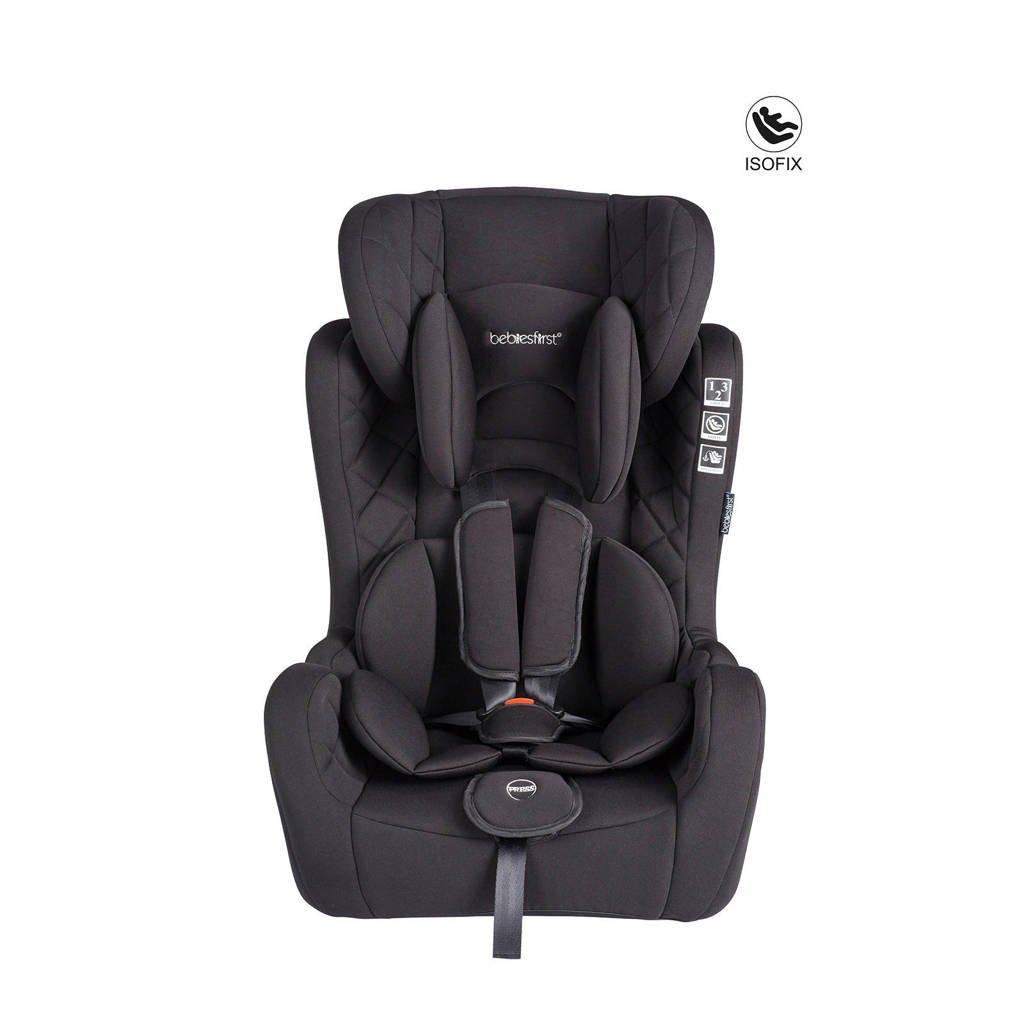 Bebies First autostoel groep 1+2+3 zwart, Zwart