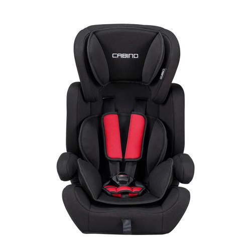 Cabino Autostoel 9-36 kg Zwart Rood