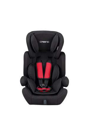 autostoel 9-36 kg zwart/rood