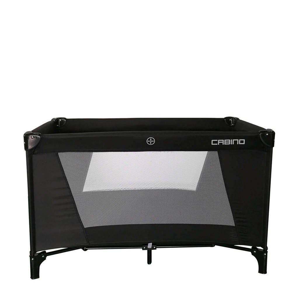 Cabino campingbed zwart, Zwart
