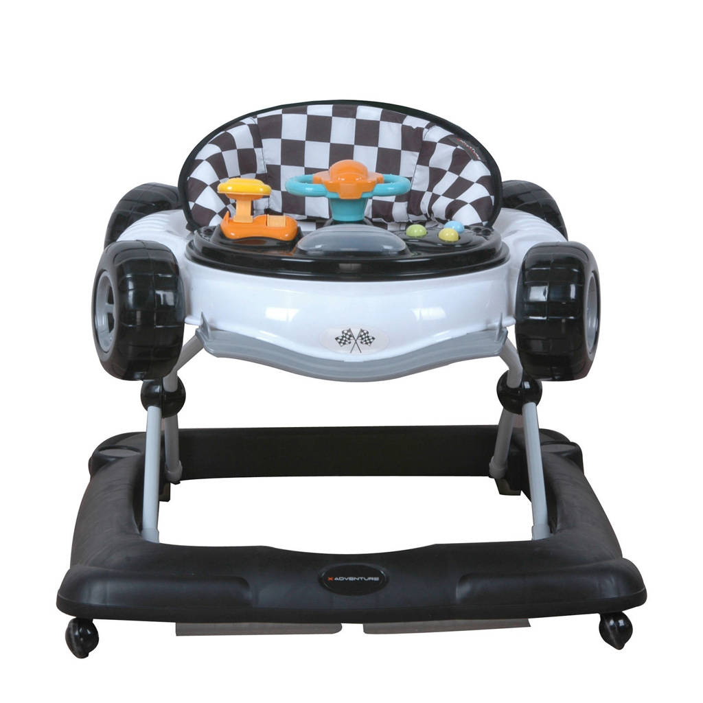 Xadventure loopstoel zwart, Zwart