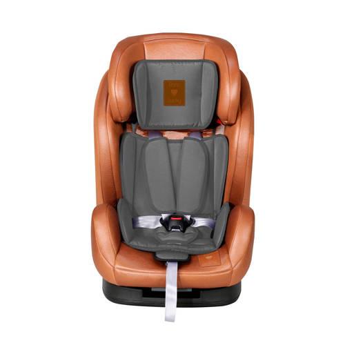 X-Adventure Autostoel Born Lucky Kidz 123 Bruin-Grijs