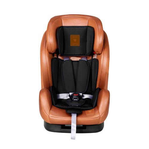 X-Adventure Autostoel Born Lucky Kidz 123 Bruin-Zwart