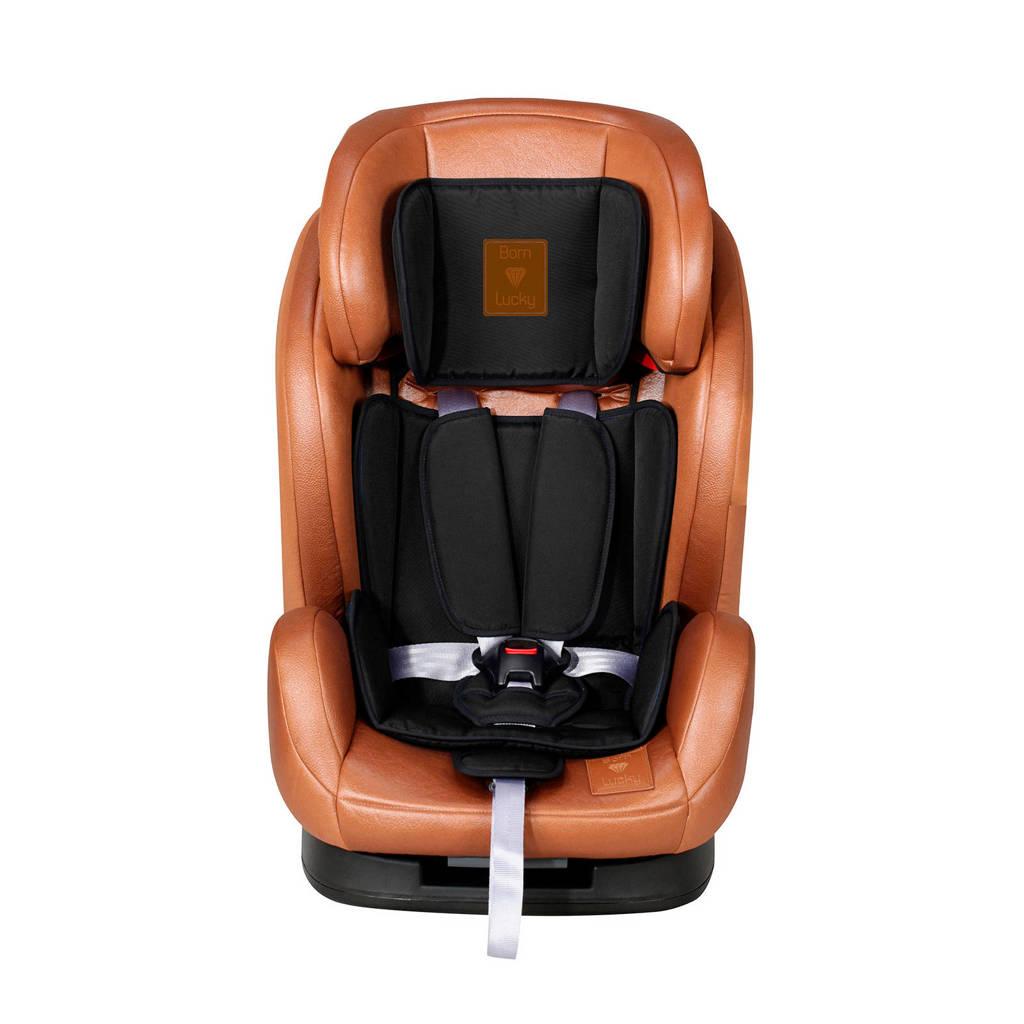 Born Lucky autostoel 1-2-3 bruin, Bruin/zwart