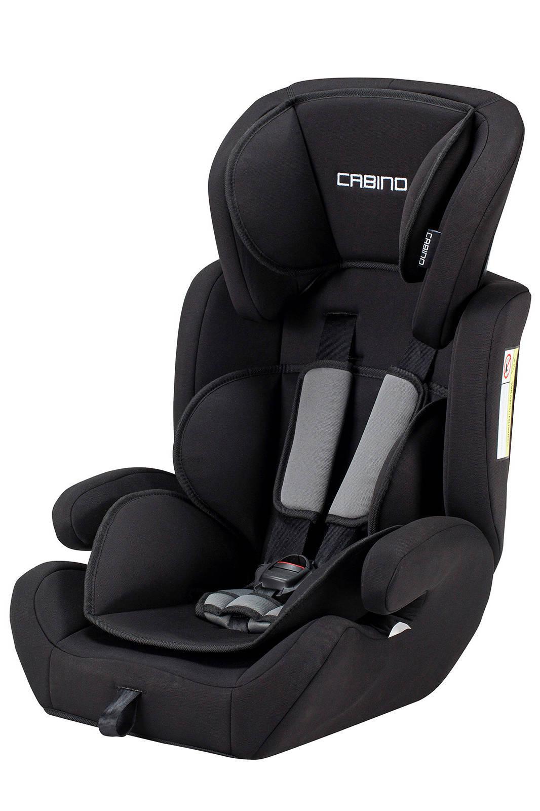 Verbazingwekkend Cabino autostoel 9-36 kg zwart/grijs | wehkamp WJ-32