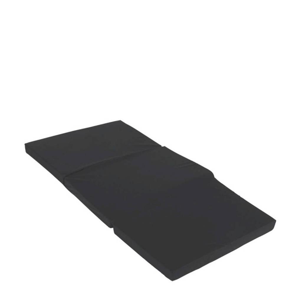 Cabino matras voor campingbed zwart, Zwart