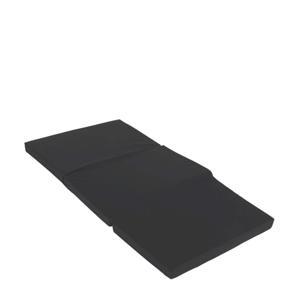 matras voor campingbed zwart