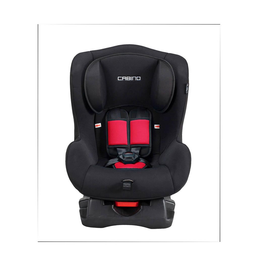 Cabino autostoel groep 0+1 zwart/rood, Zwart/rood