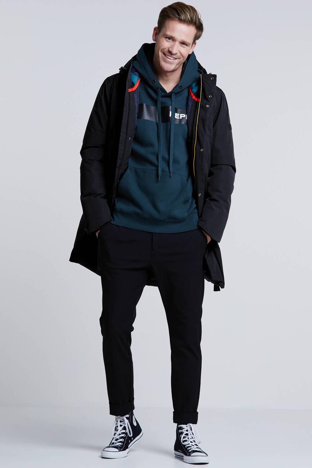 Tom Tailor winterjas zwart, Zwart