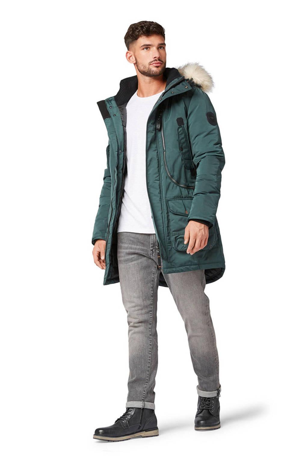 Tom Tailor winterjas groen, Groen
