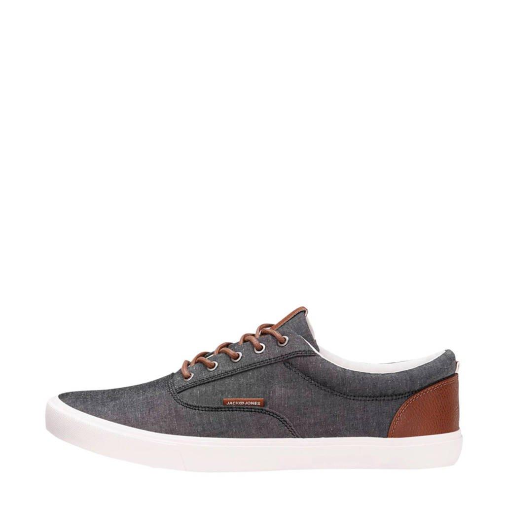 JACK & JONES   sneakers antraciet, Antraciet/bruin