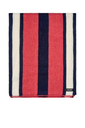gestreepte sjaal Jack roze