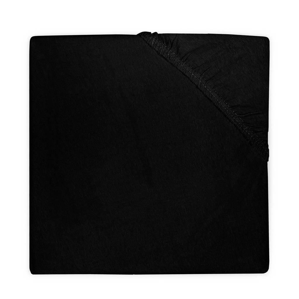 Little Lemonade hoeslaken boxmatras 75x95 cm zwart, Zwart