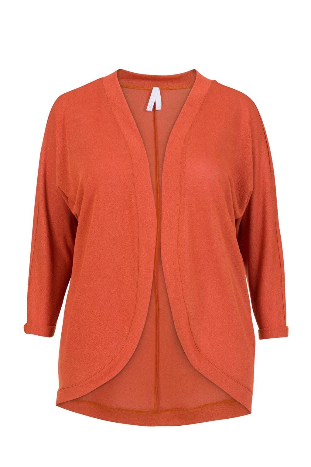 Miss Etam Plus vest oranje, Oranje